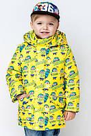 Модная куртка  для мальчика весна-осень Миньоны., фото 1