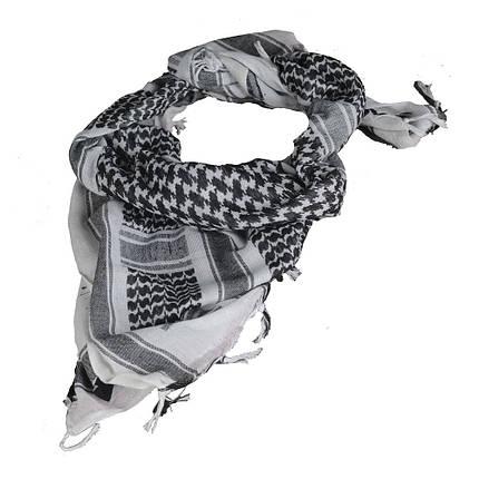 Шарф шемаг  белый/чёрный (M-Tac), фото 2