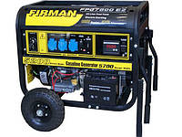 Бензиновый однофазный генератор 5,5 кВт Firman