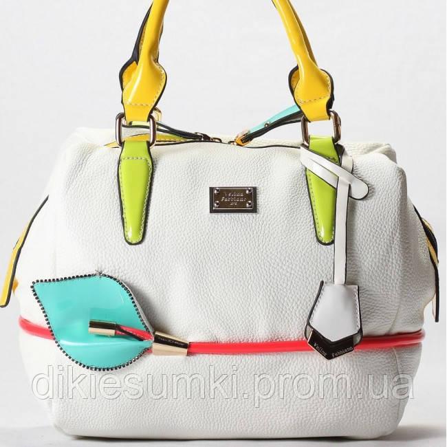17786d9cb538 Женская сумка Velina Fabbiano белая в Интернет-магазине женских ...