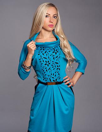 Красивое платье с перфорацией, фото 2