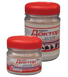 Крем «Доктор» 100 мл банка противовоспалительный с декаметоксином для лечения мастита