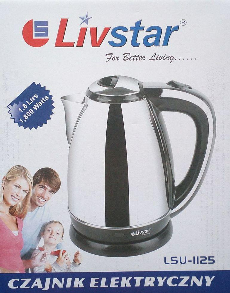 Електричний чайник Livstar Lsu-1125, 1800Вт