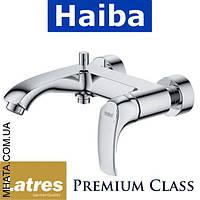 Смеситель для ванны короткий нос HAIBA LATRES VENUS (Chr-009)