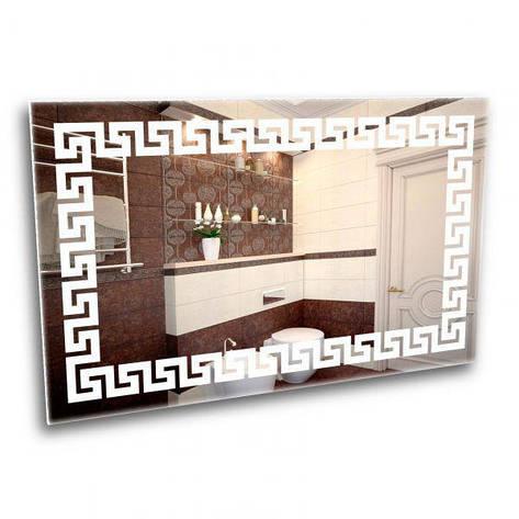 Лед зеркало с греческим орнаментом, фото 2