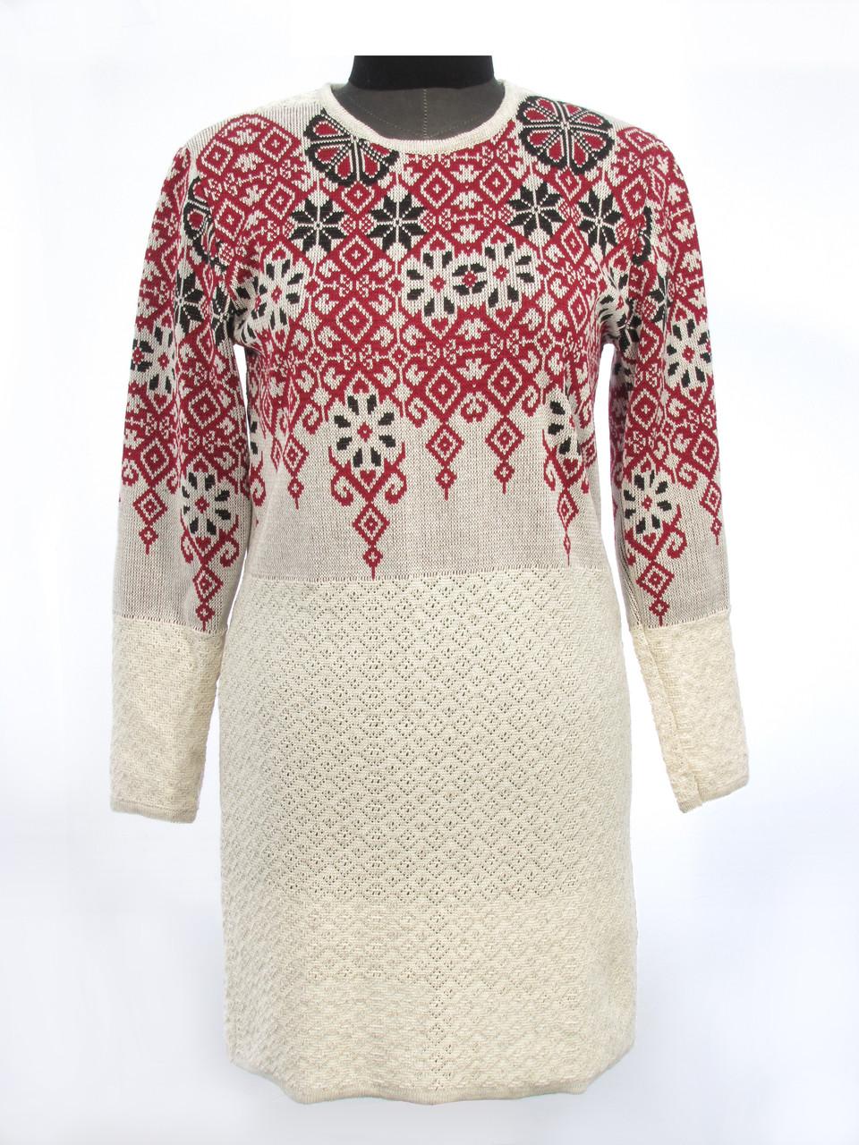 Вязаное платье Елена