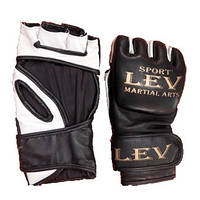 Перчатки бойцовские   LEV «М 3» кожа M