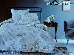 """Комплект постельного белья Elway """"Евро"""" 5064, фото 2"""