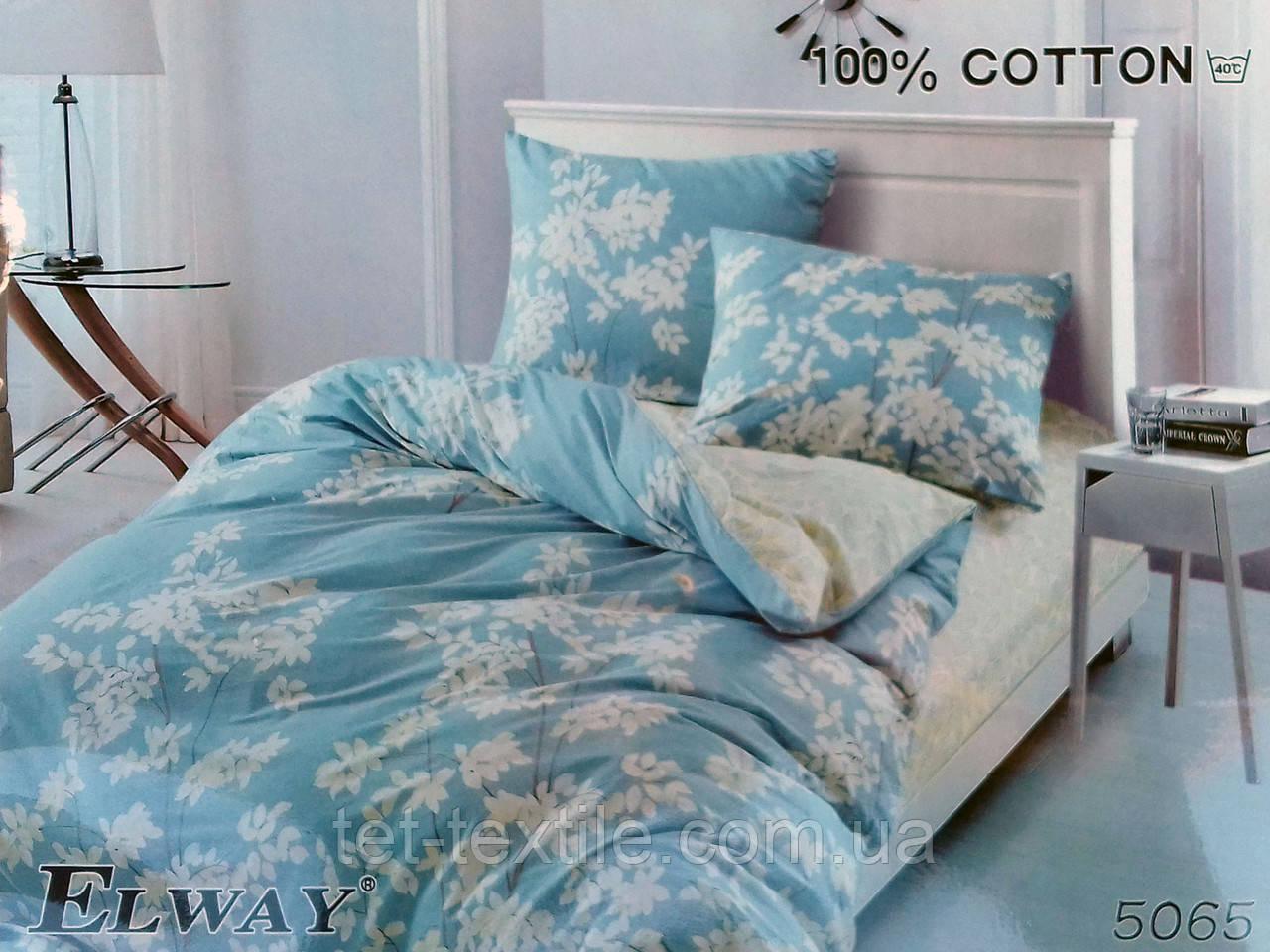 """Комплект постельного белья Elway """"Евро"""" 5065"""