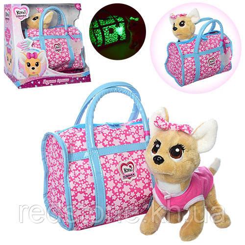 Собачка Кикки Kiki Chi Chi Love Чи Чи Лав в сумочке, поёт и лает 3835