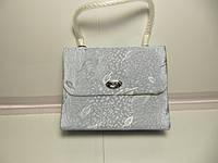 Женская сумка чемоданчик разных цветов 10х13.5 см , фото 1
