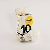 Светодиодная лампа DAYON EMT-1703 A60 10W 3000K E27, фото 1
