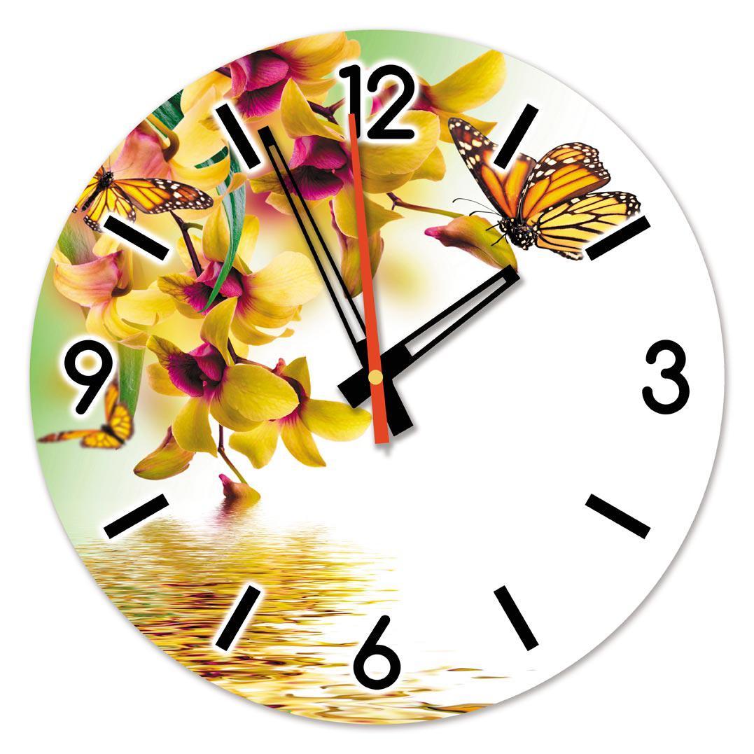 Часы настенные стеклянные Т-Ок 006 SD-3504