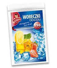 Пакети для льоду Anna Zaradna, 196 кубиків, із зав`язками