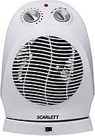Тепловентилятор  Skarlet SC-0157 2000Вт, поворот на 90, 4-х позиц.перемик.