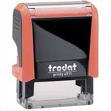 Оснастка для штампу Trodat пластикова 38*14мм, помаранчева