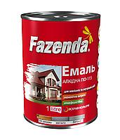 Эмаль алкидная «FAZENDA» ПФ-115 - Универсальная алкидная эмаль
