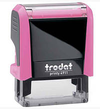 Оснастка для штампу Trodat пластикова , 38*14мм рожева