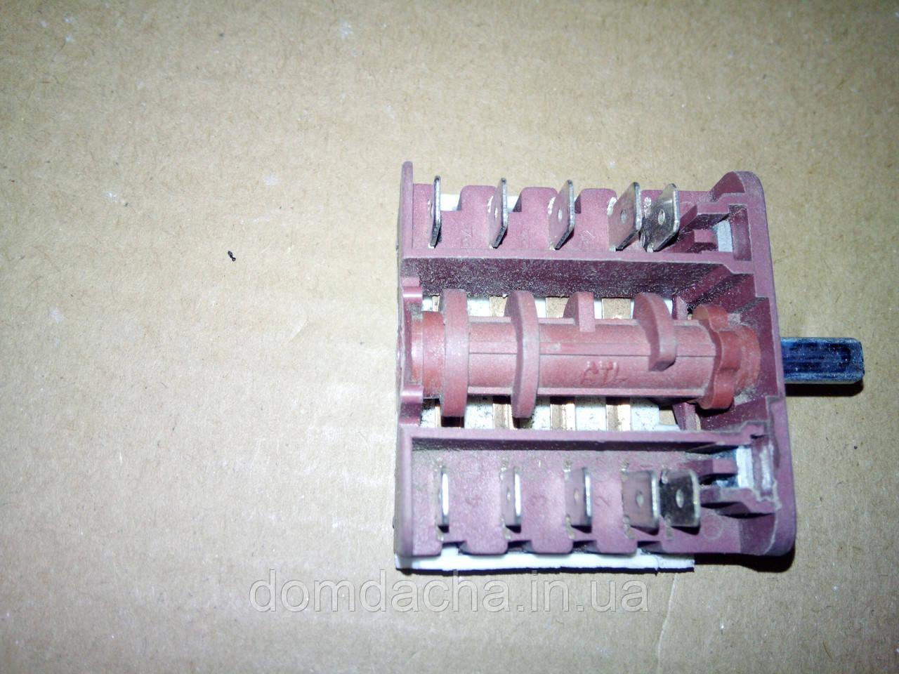 Перемикач п'ятипозиційний BC4-10/16А/250V/Т150 для електроплит Туреччина
