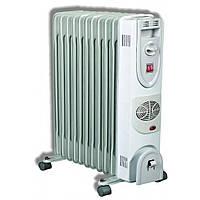 Масляный радиатор (обогреватель) на 1800Вт Термія C45-7F