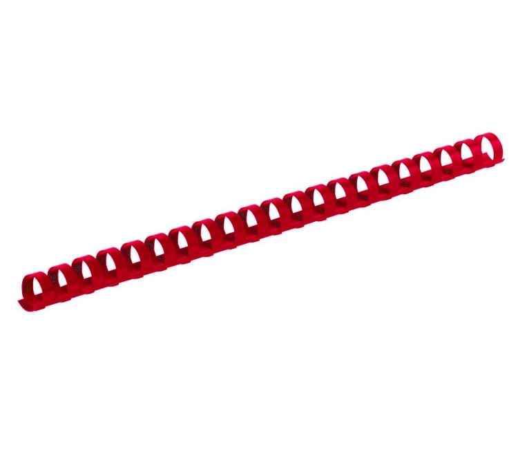 Пластикова пружина d25мм,червона,(50шт.)