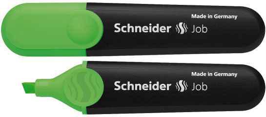 Маркер текстовий Schneider 1504, Job 150, зелений