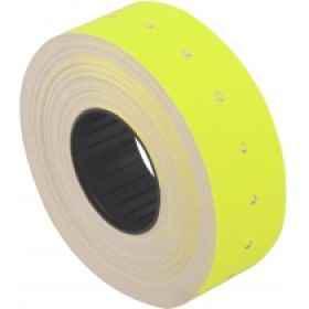 Етикетки-цінники Economix 21301-05, 21*12 мм, 1000 шт/рул., жовті