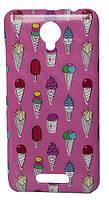 Накладка пластиковая Florence Prestigio PSP3510 Wize G3 ice-cream, фото 1