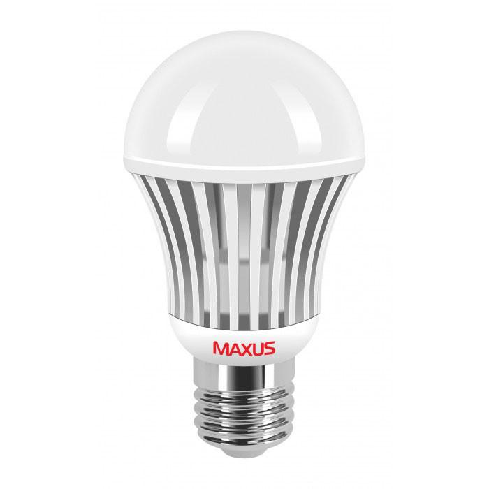 Светодиодная лампа Maxus A60 9W 880lm 4500K 220V E27 AL 1-LED-326