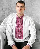 Вышитая рубашка мужская (ручная работа)