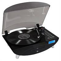 Современный проигрыватель виниловых пластинок THOMSON TT400CD CD USB