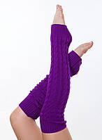 Женские вязаные гетры для танцев и гимнастики