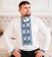 Красивая мужская вышиванка ручной работы