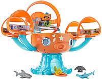 Игровой набор октонавты Октобаза Подводная станция Fisher-Price Cocoanuts Octopod Shark Adventure Playset