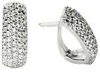 Серьги серебряные женские Милани арт. 107, фото 1