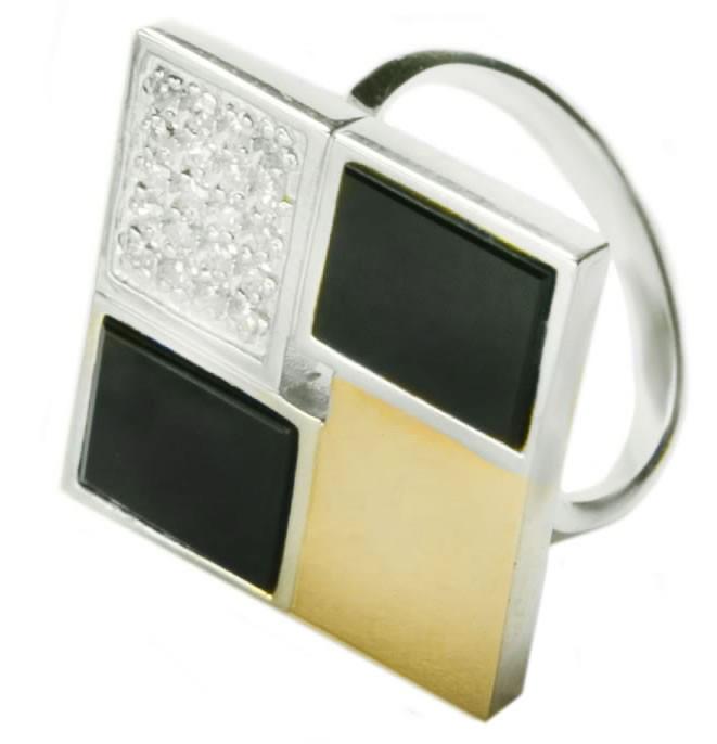Серебряное кольцо женское Грация арт. 123