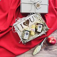 Подарочный набор ко дню Святого Валентина, натуральный мёд, полезный подарок, валентинка