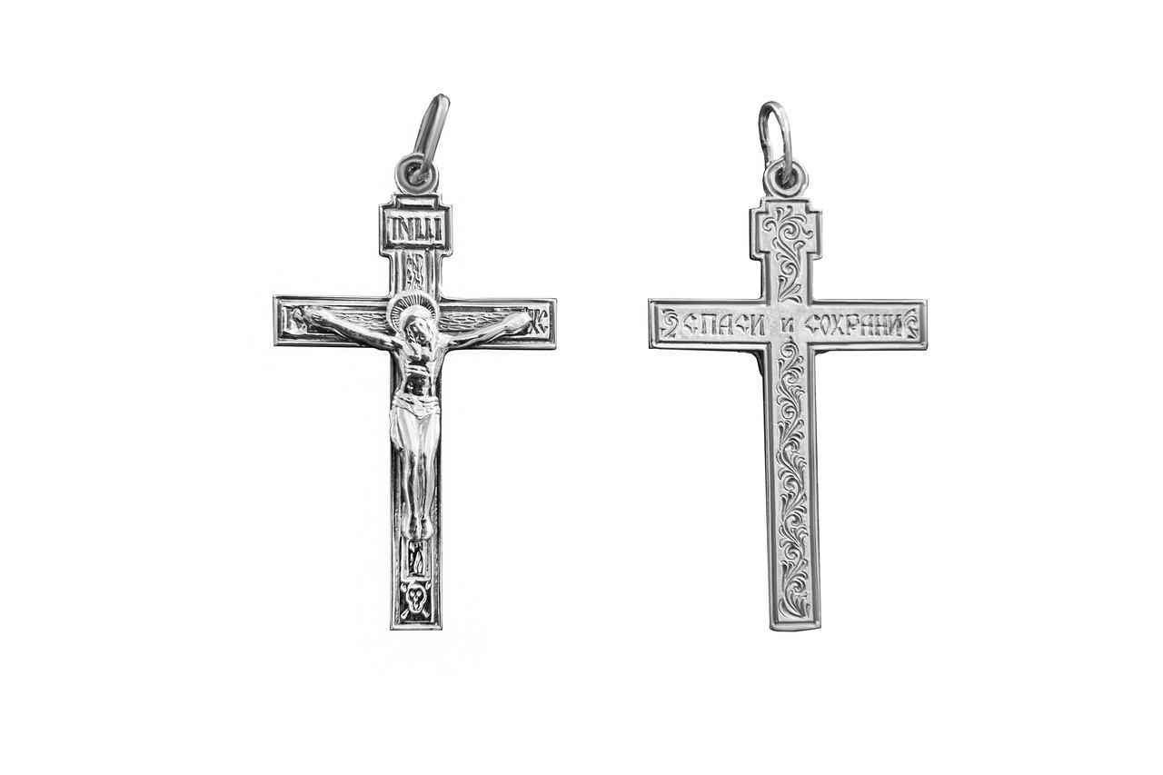 Крестик серебряный арт. 3008