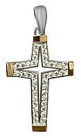 Серебряный крестик арт. 3017