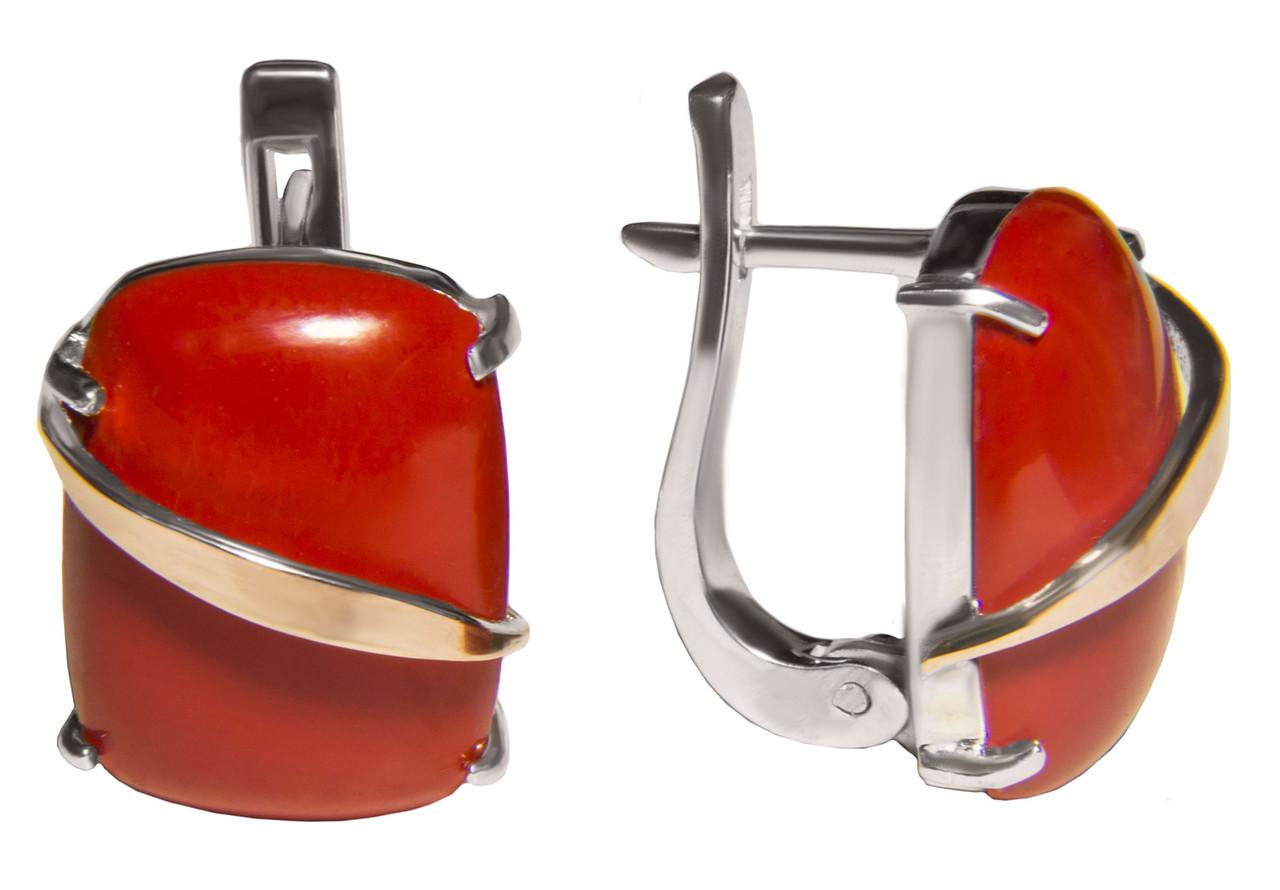 Серебряные серьги арт.154