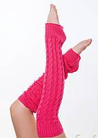Вязаные гетры для танцев и гимнастики