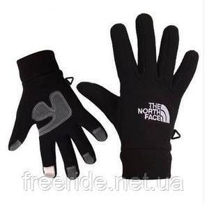 Флисовые сенсорные перчатки The North Face (Replica) L