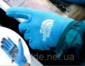 Флисовые сенсорные перчатки The North Face (L), фото 3