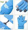 Флисовые сенсорные перчатки The North Face (L), фото 4