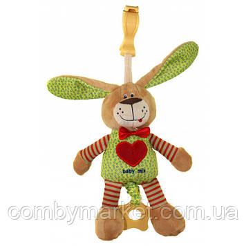 Плюшевая игрушка Baby Mix STK-16395 Зайчик