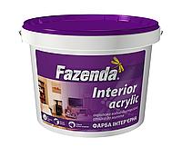 Моющаяся краска Fazenda Interior Acrylic - для стен и потолка