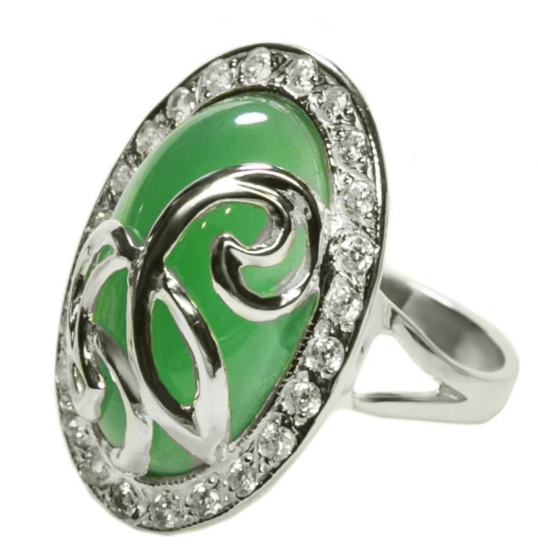 Серебряное кольцо Комодо арт. 114