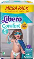 Подгузники детские Libero Comfort 5 (10-16 кг) 80 шт.