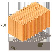 Керамический блок ТеплоКерам 380мм