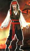 Костюм Пират (взрослый) XL 020316-106